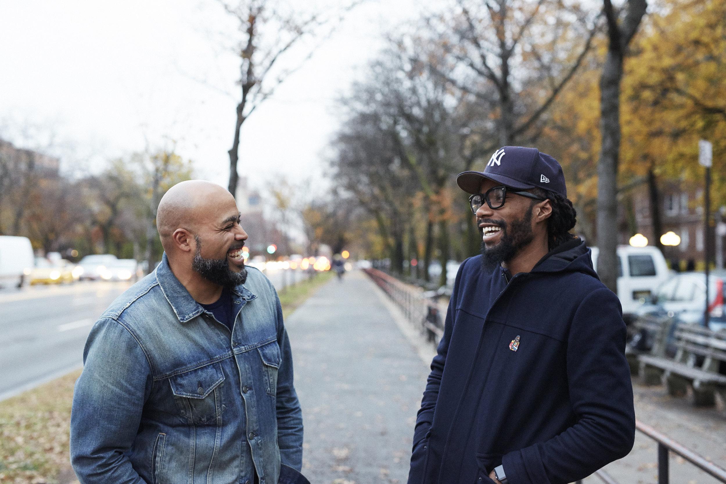 Lenny and Yahdon share a last laugh.