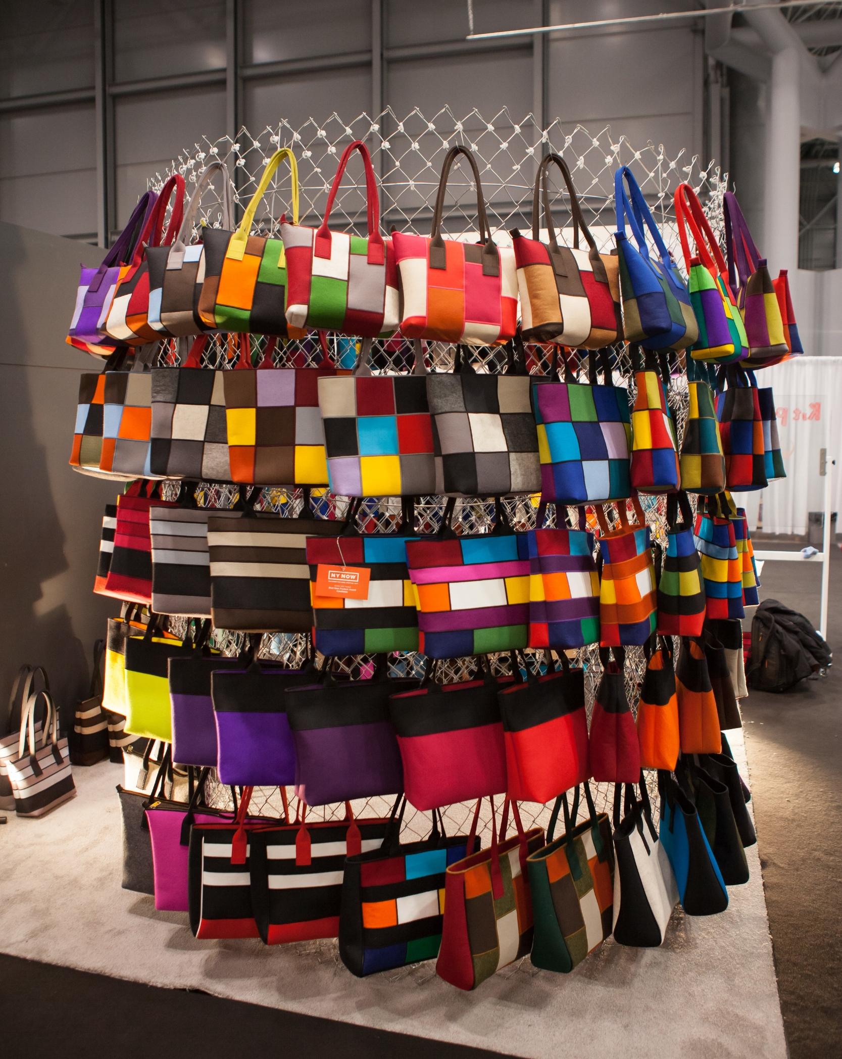 Rayer handbags.