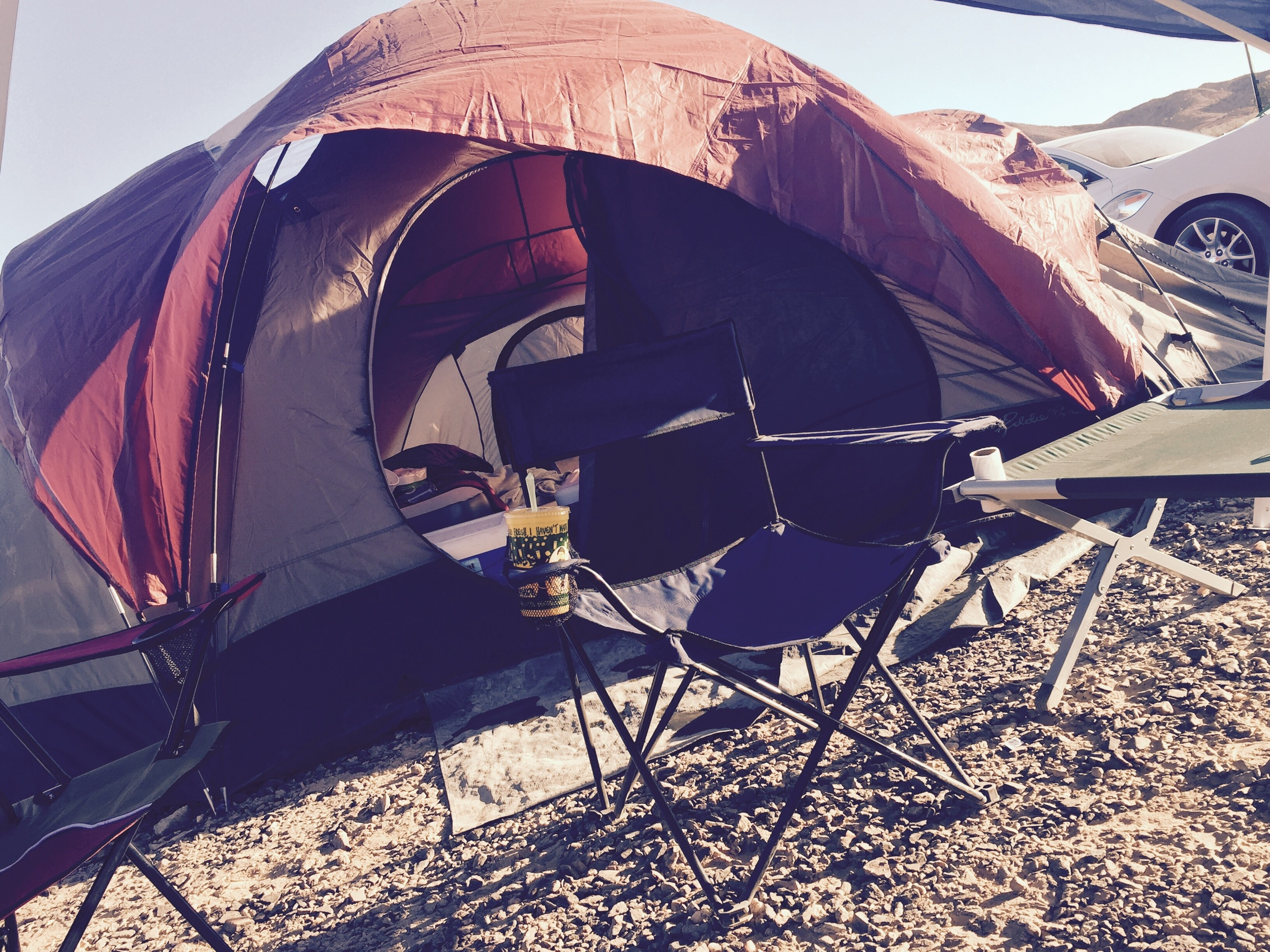 Campsite at RockFiesta, Quartsite, Arizona
