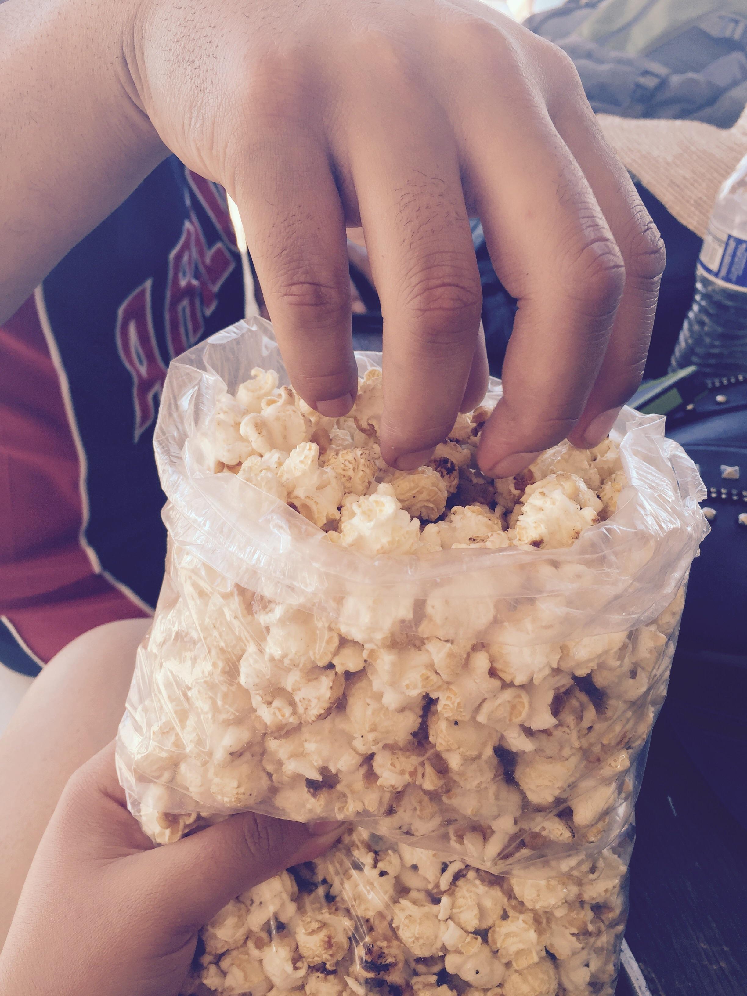 Kettle corn, 6$.