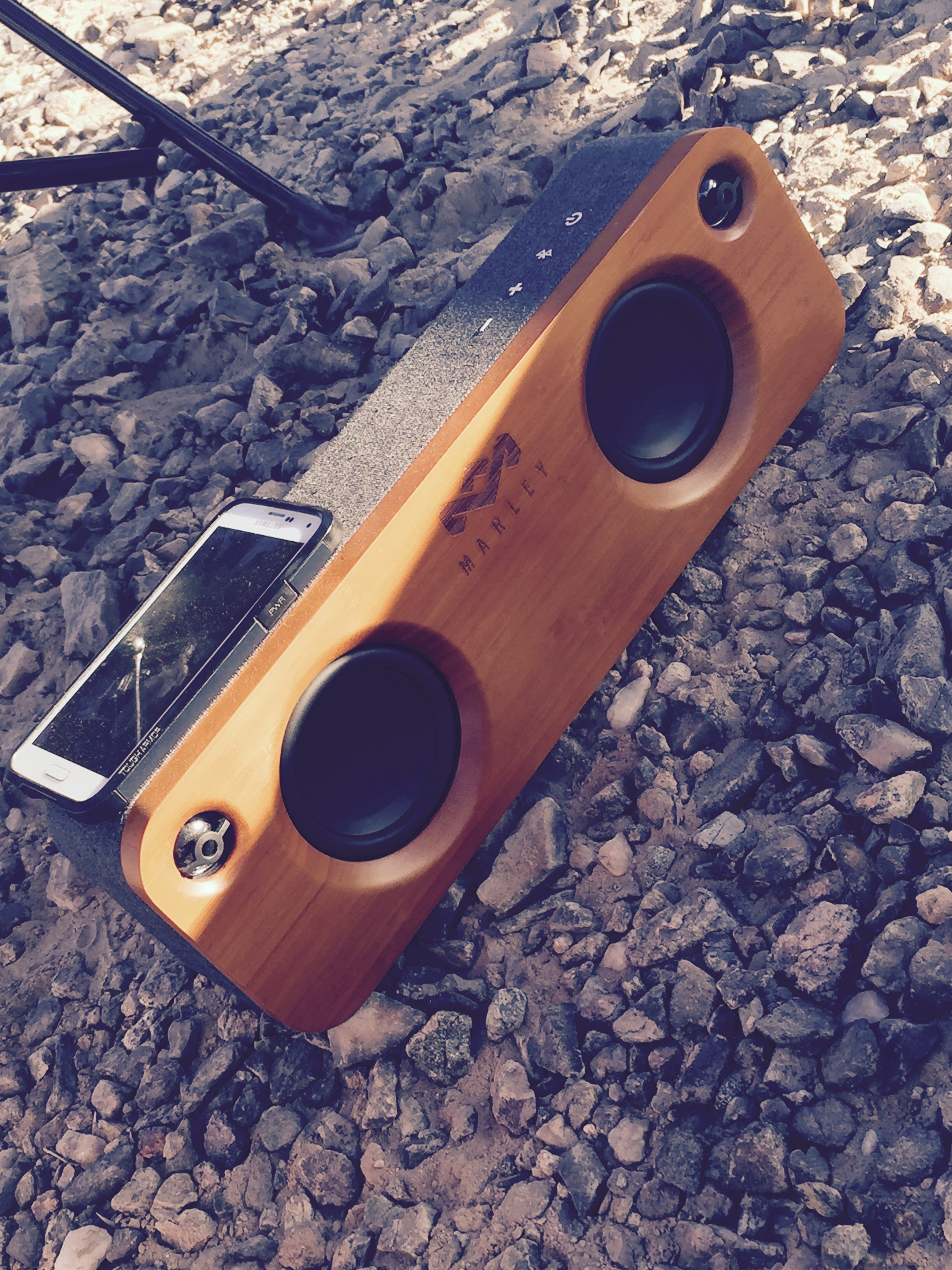 Portable Bluetooth stereo, House of Marley 179$