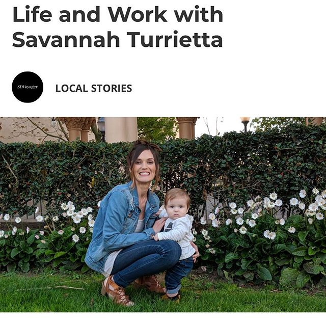 You can check out my story on @sdvoyagermag today just scroll down to the article on The Trailblazers: Rewriting the Narrative, click on east #sandiego and you'll see this photo of me sharing my story. Thanks for reading along. Let me know what you think. 💙 #womaninbusiness