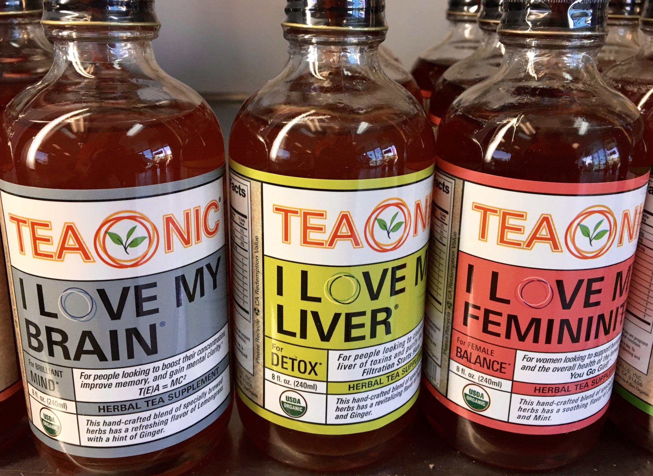 Teonic herbal supplement tea
