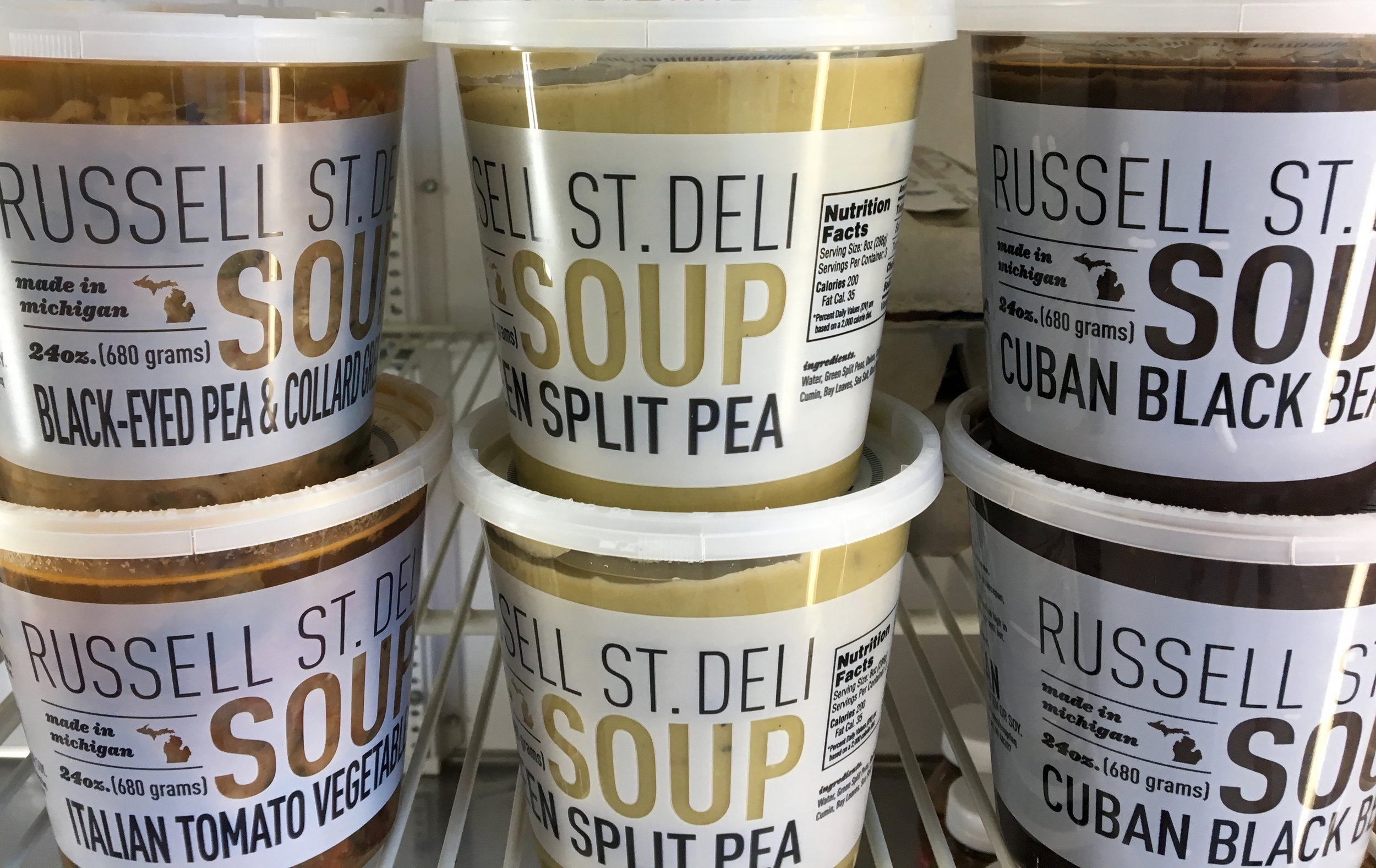 russell street deli soups from eastern market