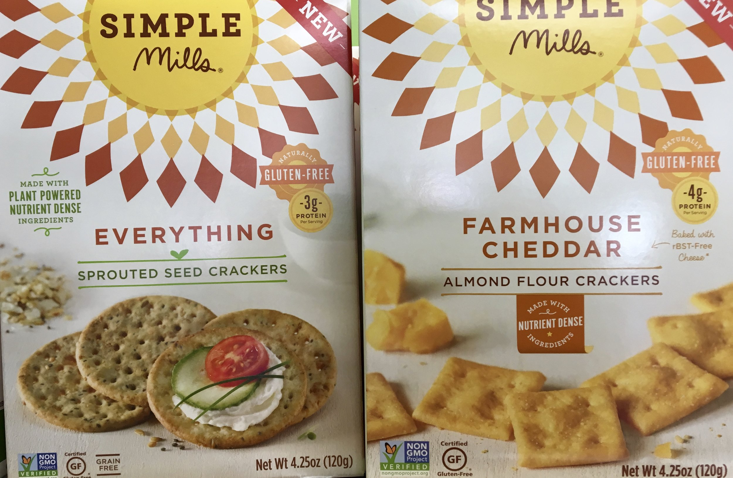 a full line of simple mills gluten free products