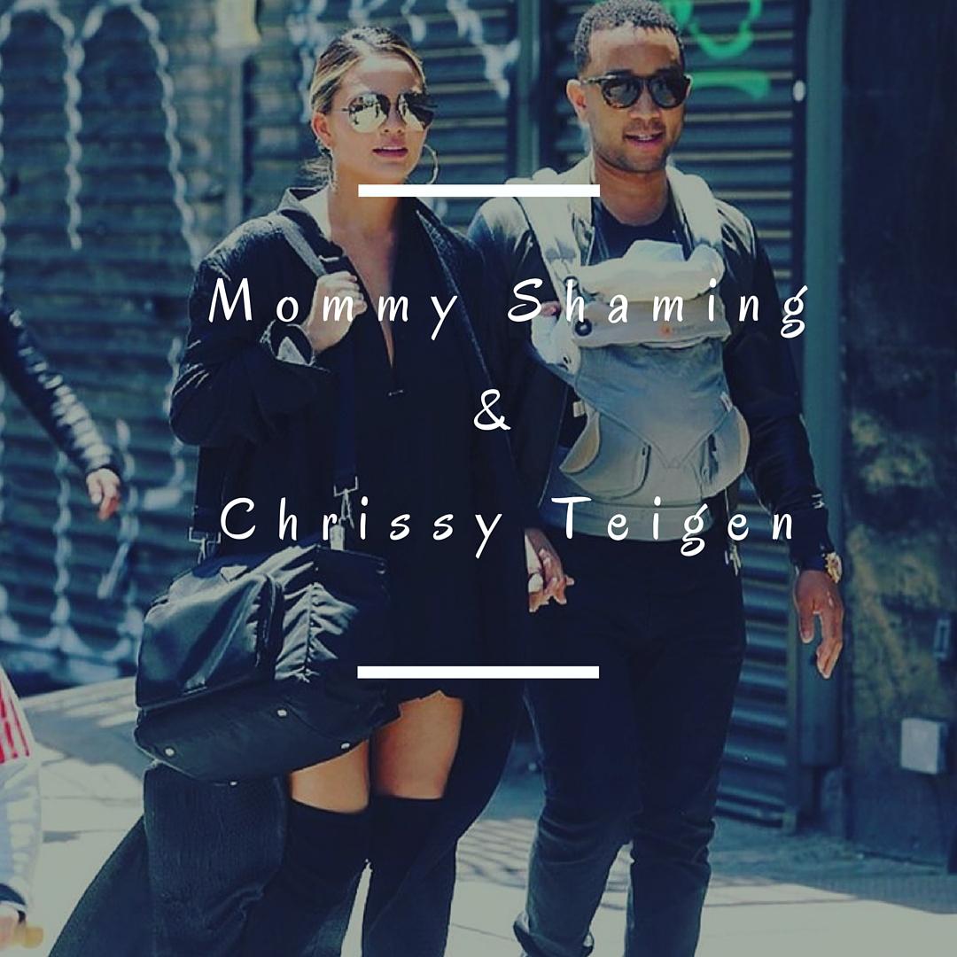 Chrissy Teigen & John Legend out and about with Luna. Photo taken from Chrissy's Instagram: @chrissyteigen