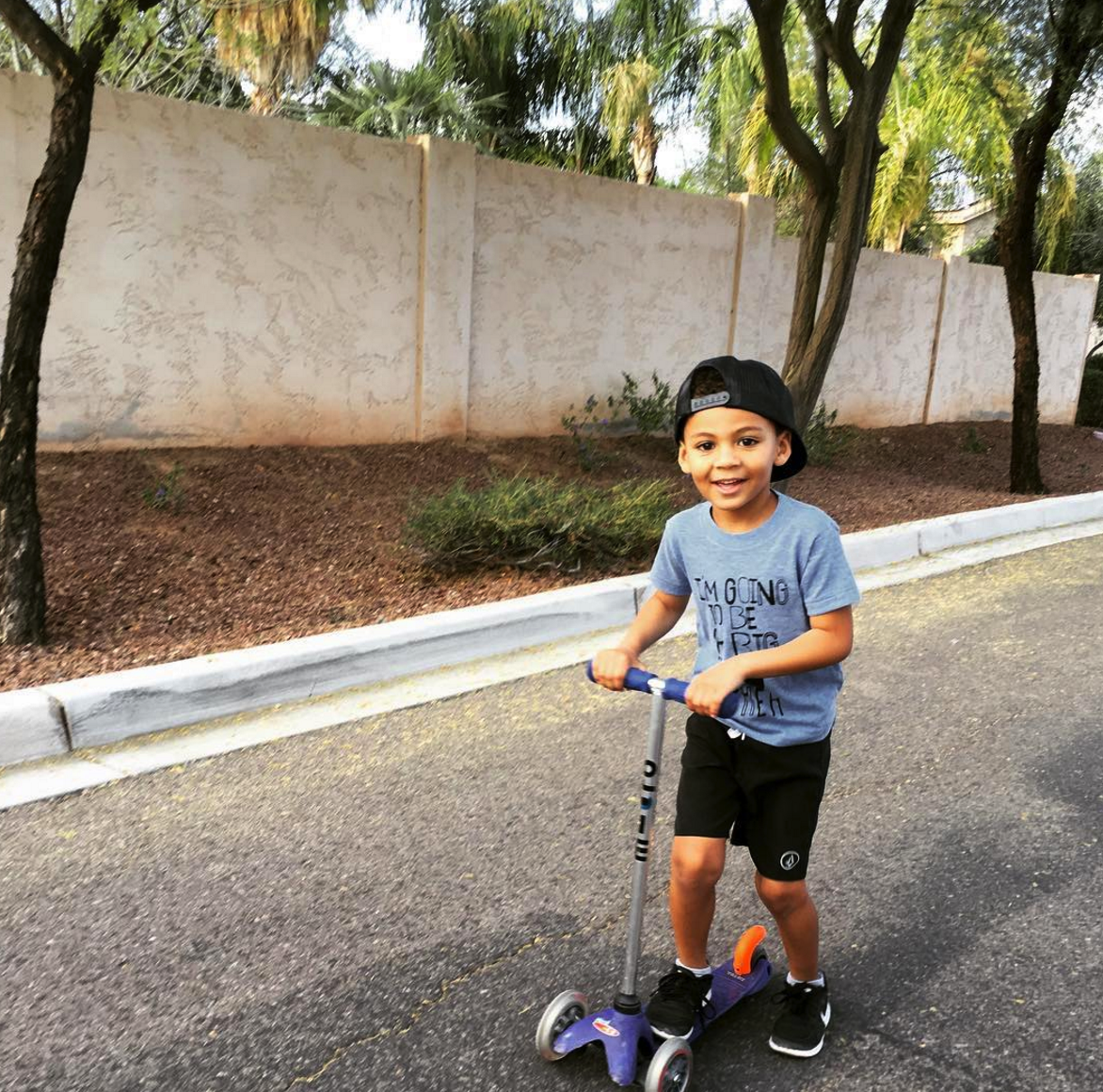Daily scooter rides around the 'hood.