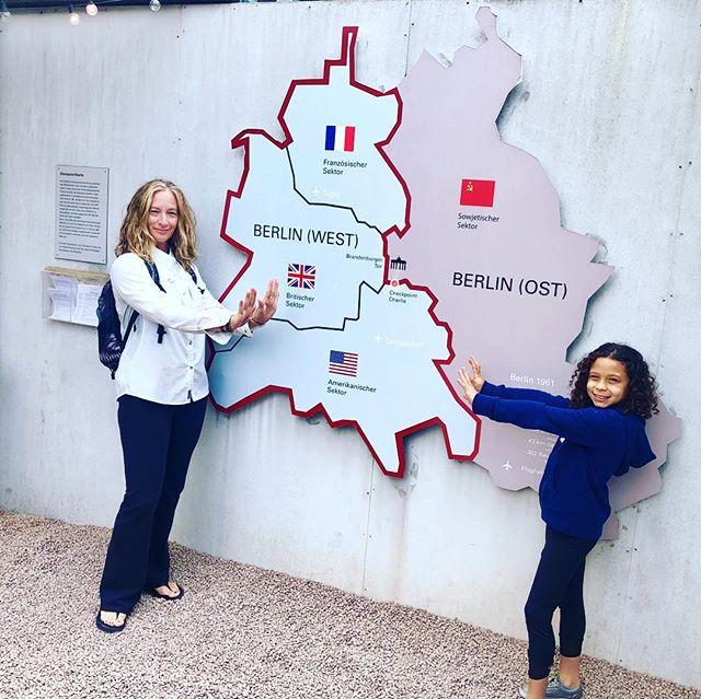 Exploring #Berlin #summerwithgrandma2019 #europe #europetravel #passportready #checkpointcharlie #onelove #germany🇩🇪 #deutschland