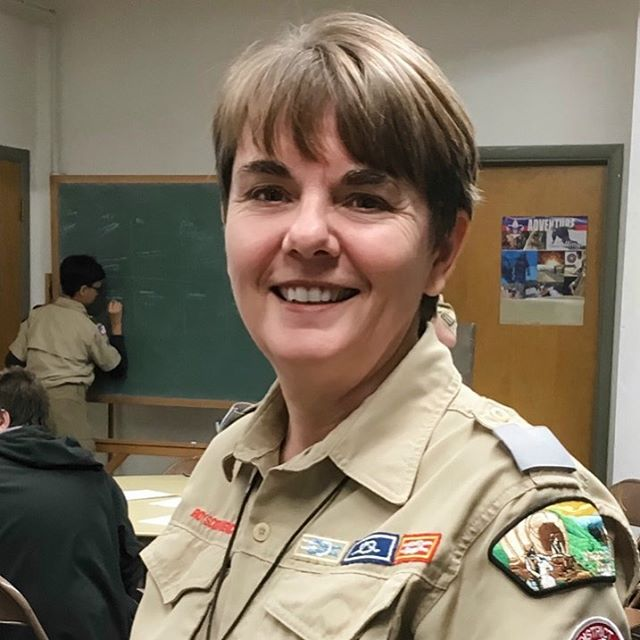 "We are so excited to announce our newest District Executive for the Benton and Yaquina District Sherry Haywood!  Here's a little bit about Sherry for those that haven't met her out at @campbakerbsa or at the council office yet. ""I  joined Boy Scout of America when I was a youth (as a girl) and became a volunteer as a young adult.  During my years as a youth Scout I discovered the leadership and life skills that I rely on today and have made it my life's mission to impart those skills on as many youth as possible.  Over the years I have held many volunteer positions in Units, Districts, and Councils forming a solid foundation for becoming a professional Scout.  I know, through personal experience, that Scouting can change lives and am honored to support Scouting as a professional Scout. "". Please join us in congratulating her on her new role! Congratulations Sherry! 🙌🎉❤️⚜️"