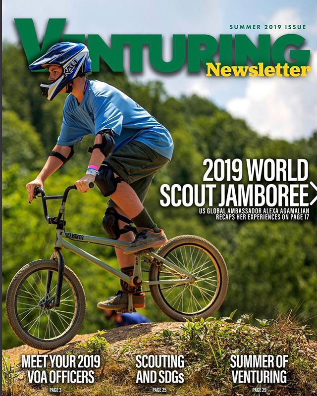 New Venturing Newsletter!! We spy some of our Venturers in the pics on these pages! Way to go @venturing141  https://issuu.com/venturingbsa/docs/nvoa_vol_1_issue_1_10.1.19_3/1?ff