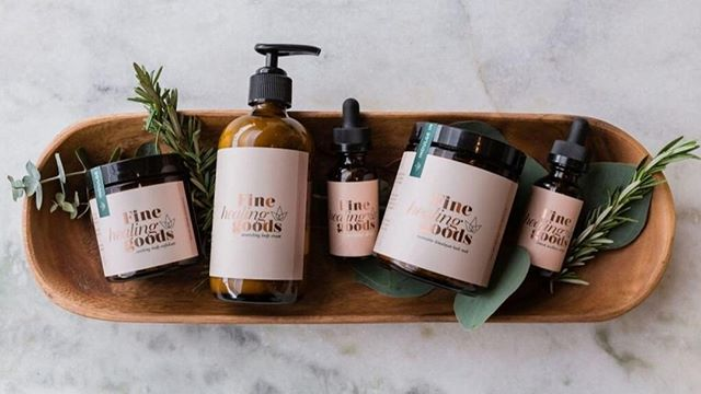 Happy Earth Day! We are so excited to introduce our new client, @finehealinggoods! The Austin based, luxury CBD wellness brand pushes to help overturn the stereotypes of CBD through education and transparency. Shop their new line online, locally at @SentrelNaturalBeauty and at local events around town! ✨