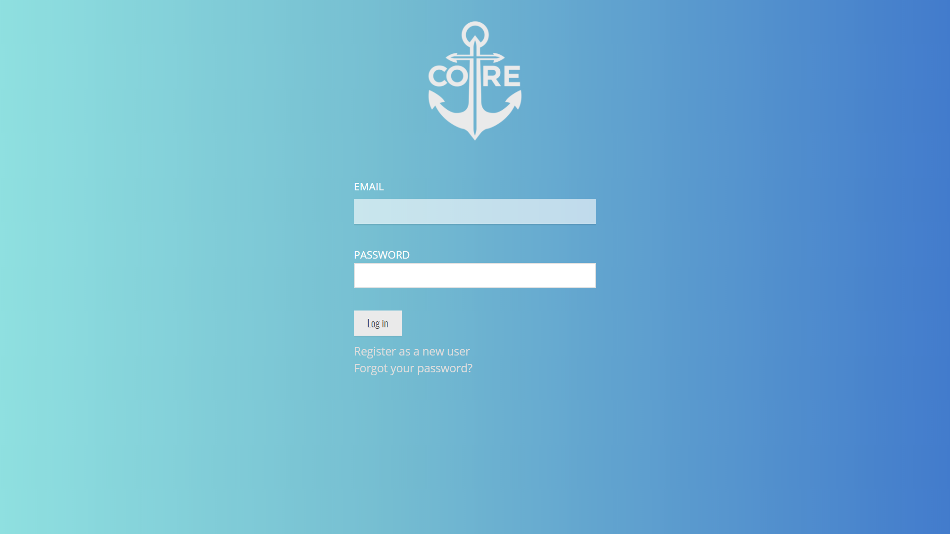 Login Screen -