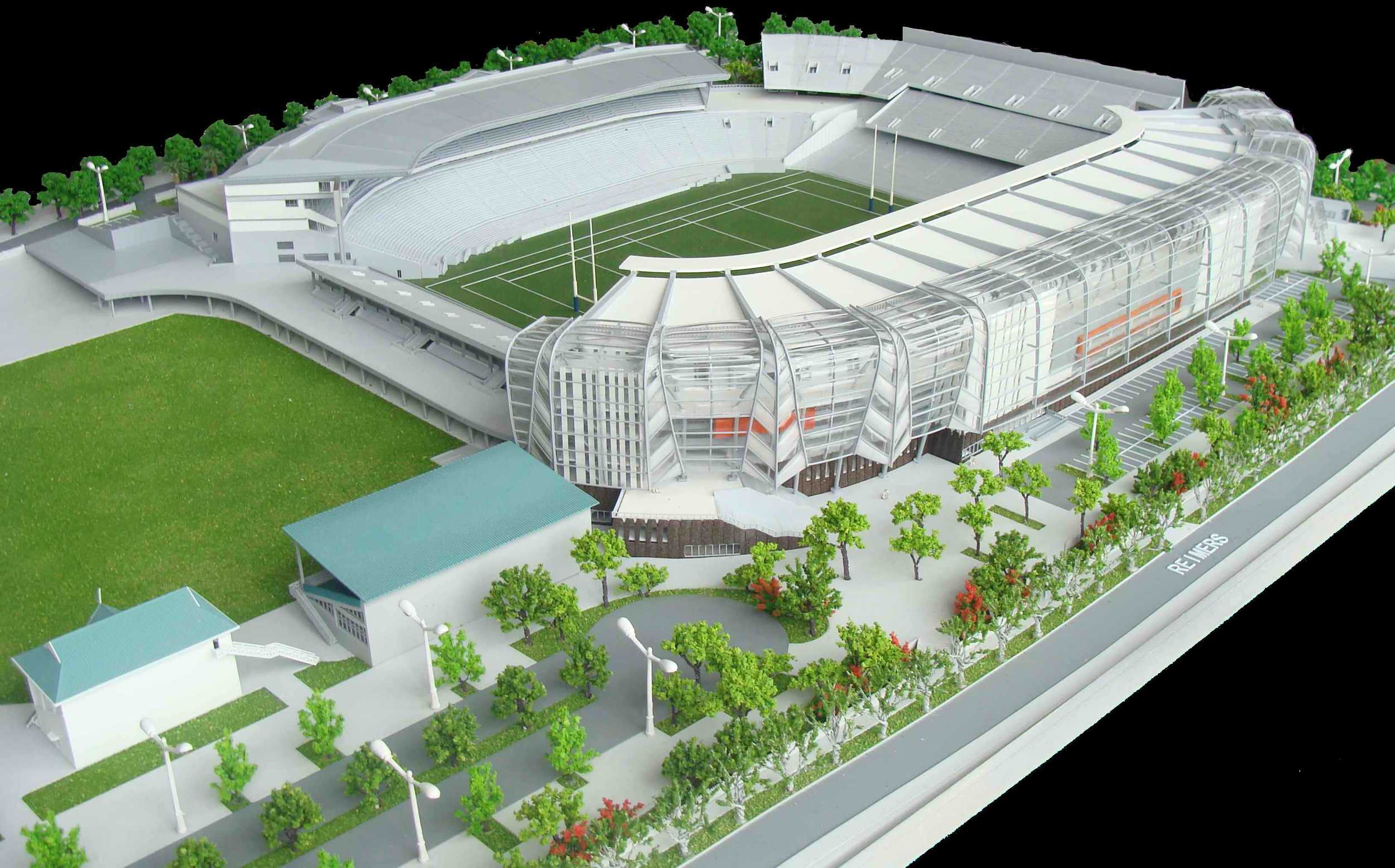 Eden Park - Rugby World Cup 2011 Stadium Model by The Model Workshop.jpg