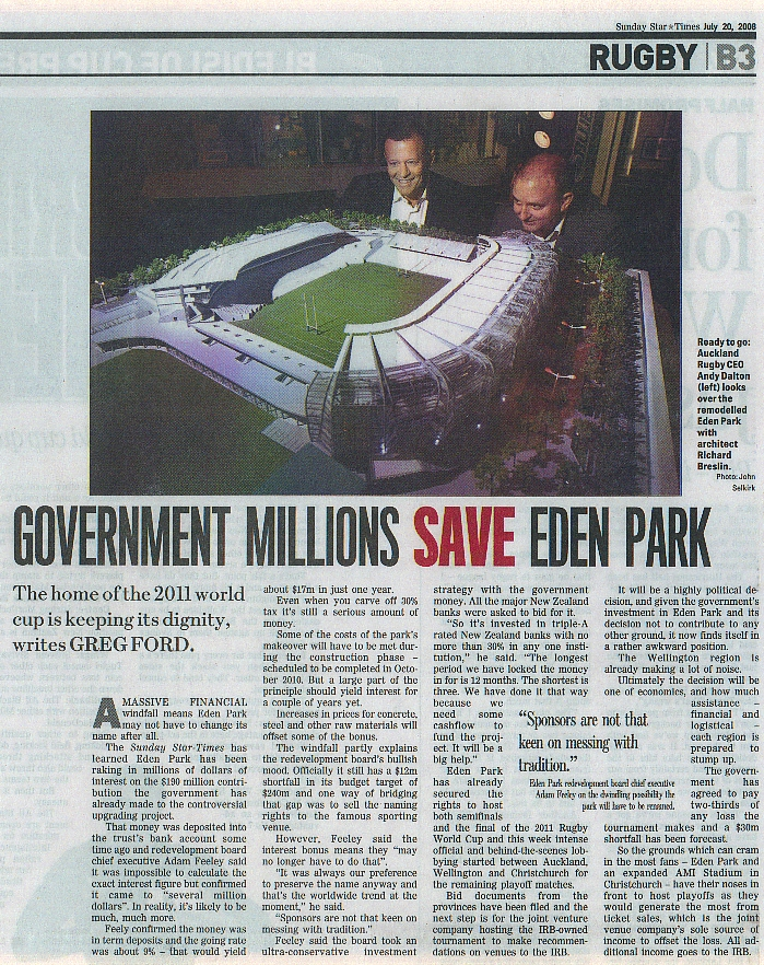 Eden Park Article - Sunday Star Times July 20th 2008.jpg