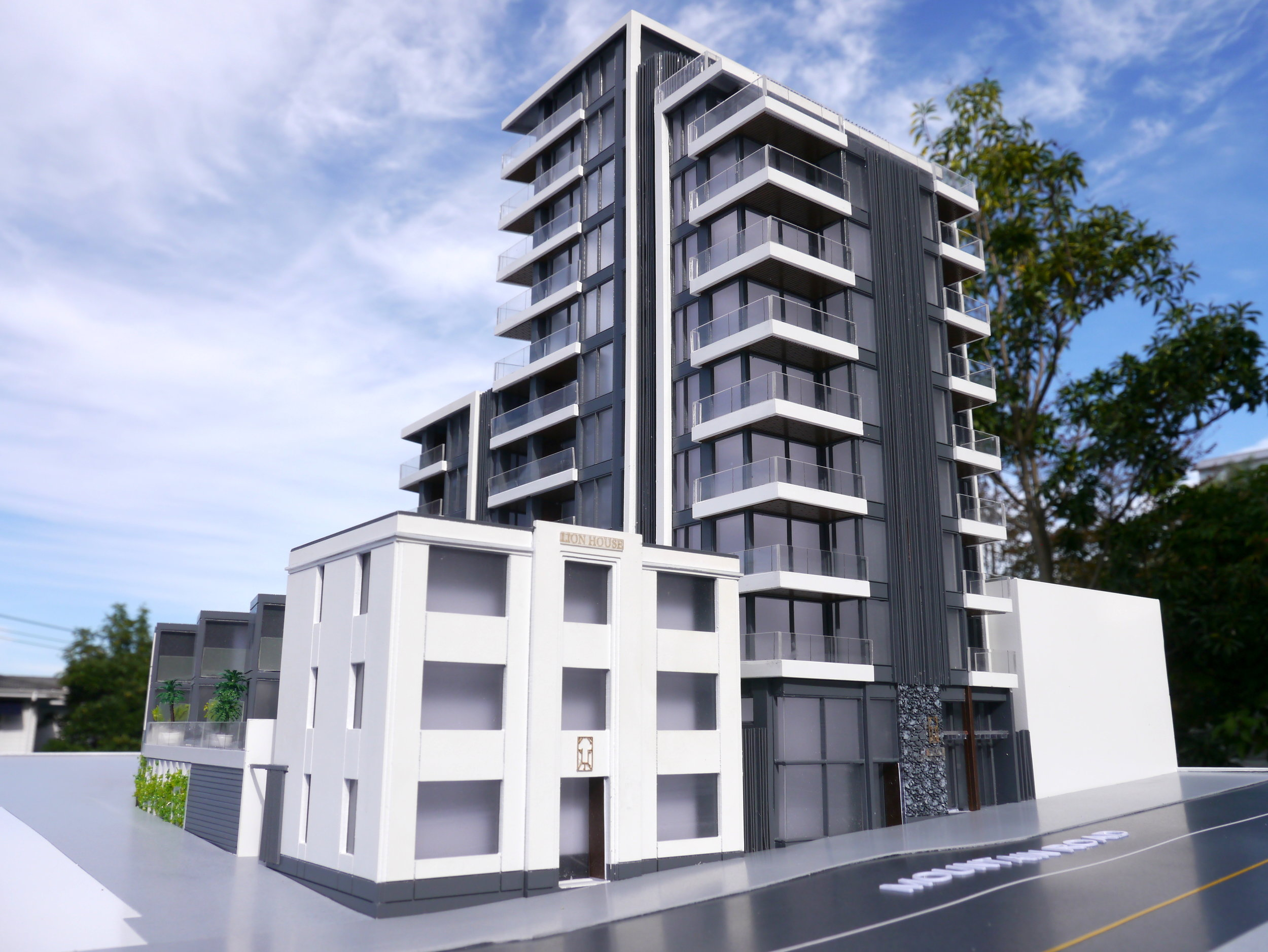 Lion Residences Architectural Scale Model