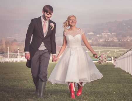 Weddings and wellies? Sold!