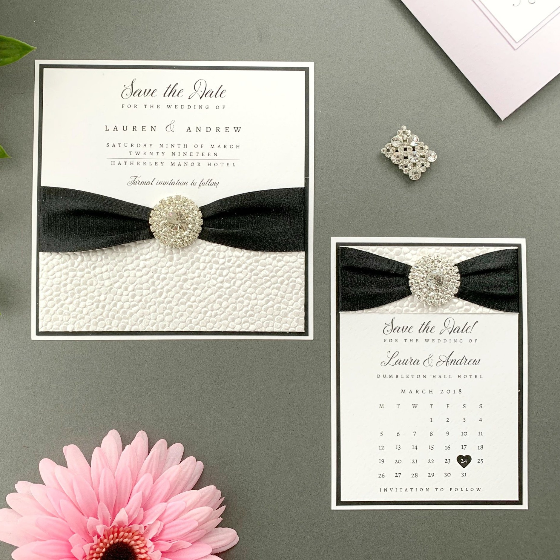 Artemis Save The Date Card and Calendar