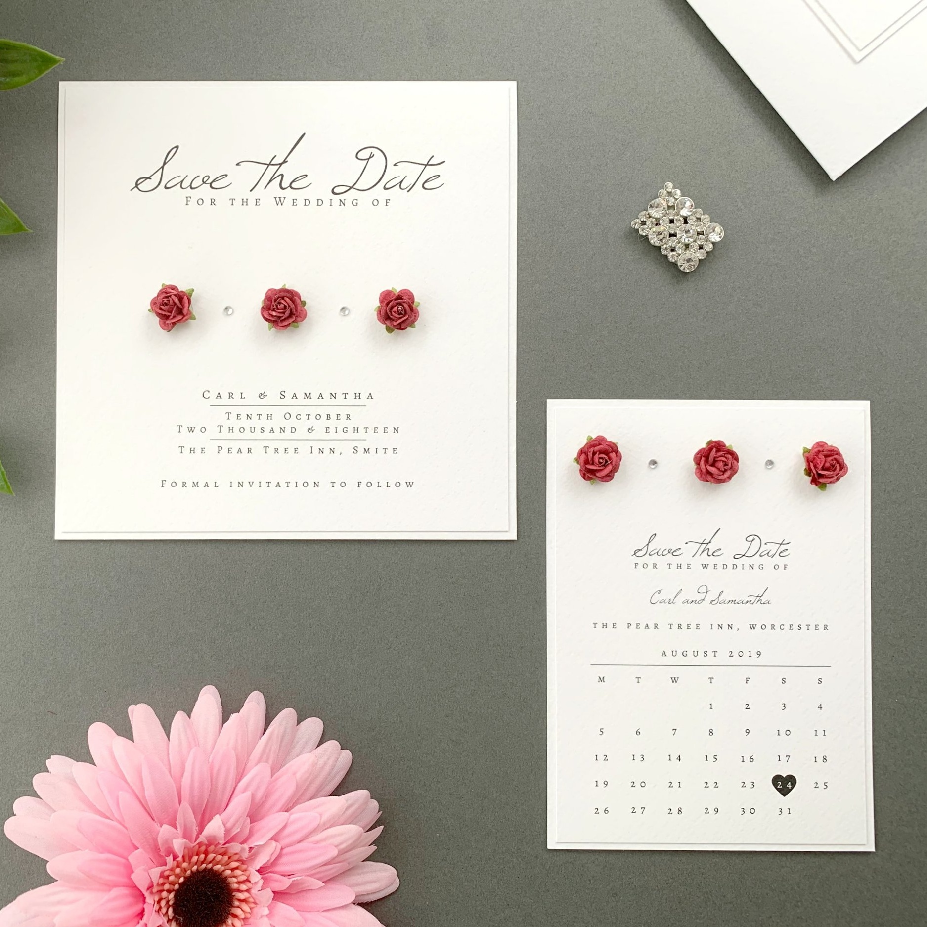 Eos Save The Date Card