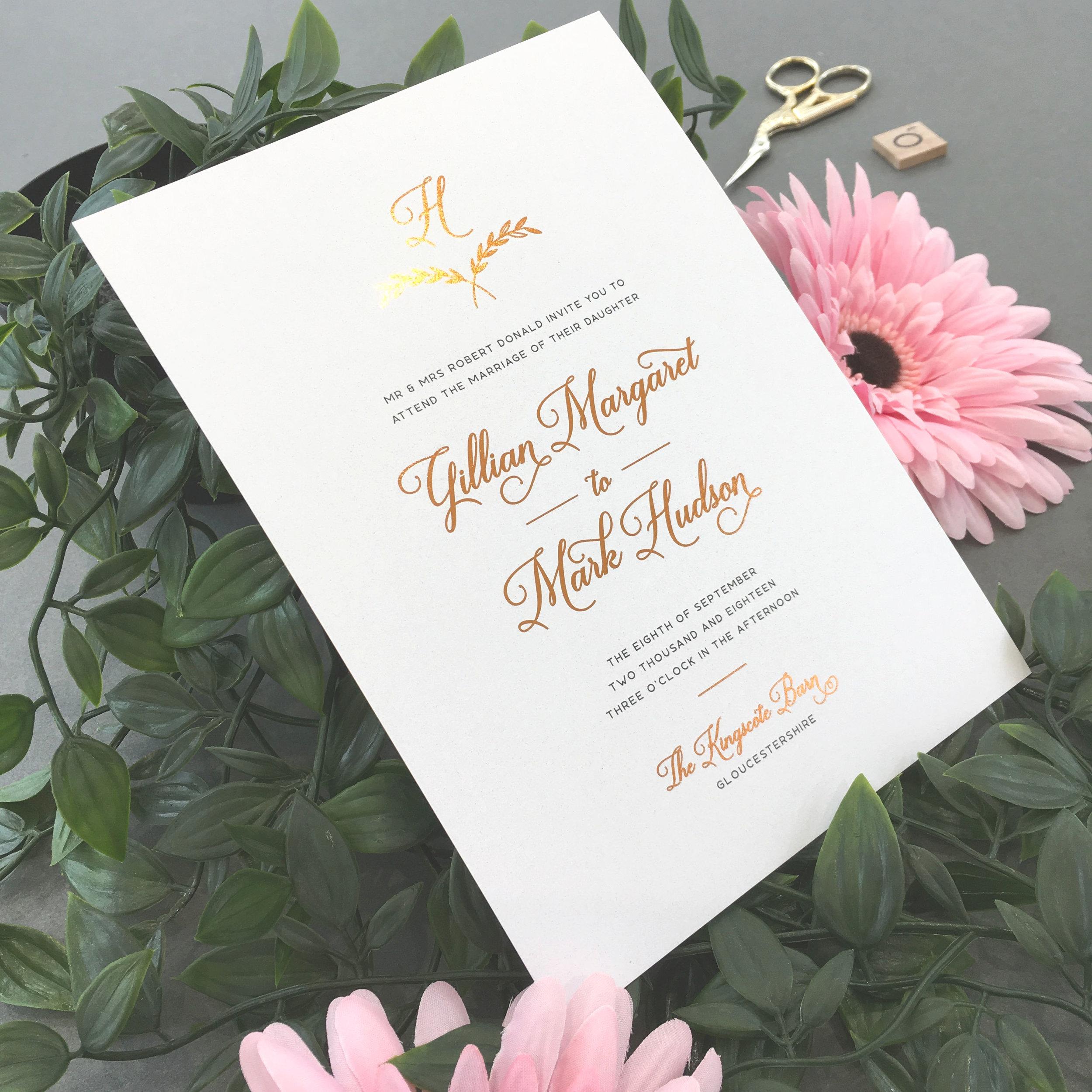 Paddington - Copper Foiled Invite.jpg