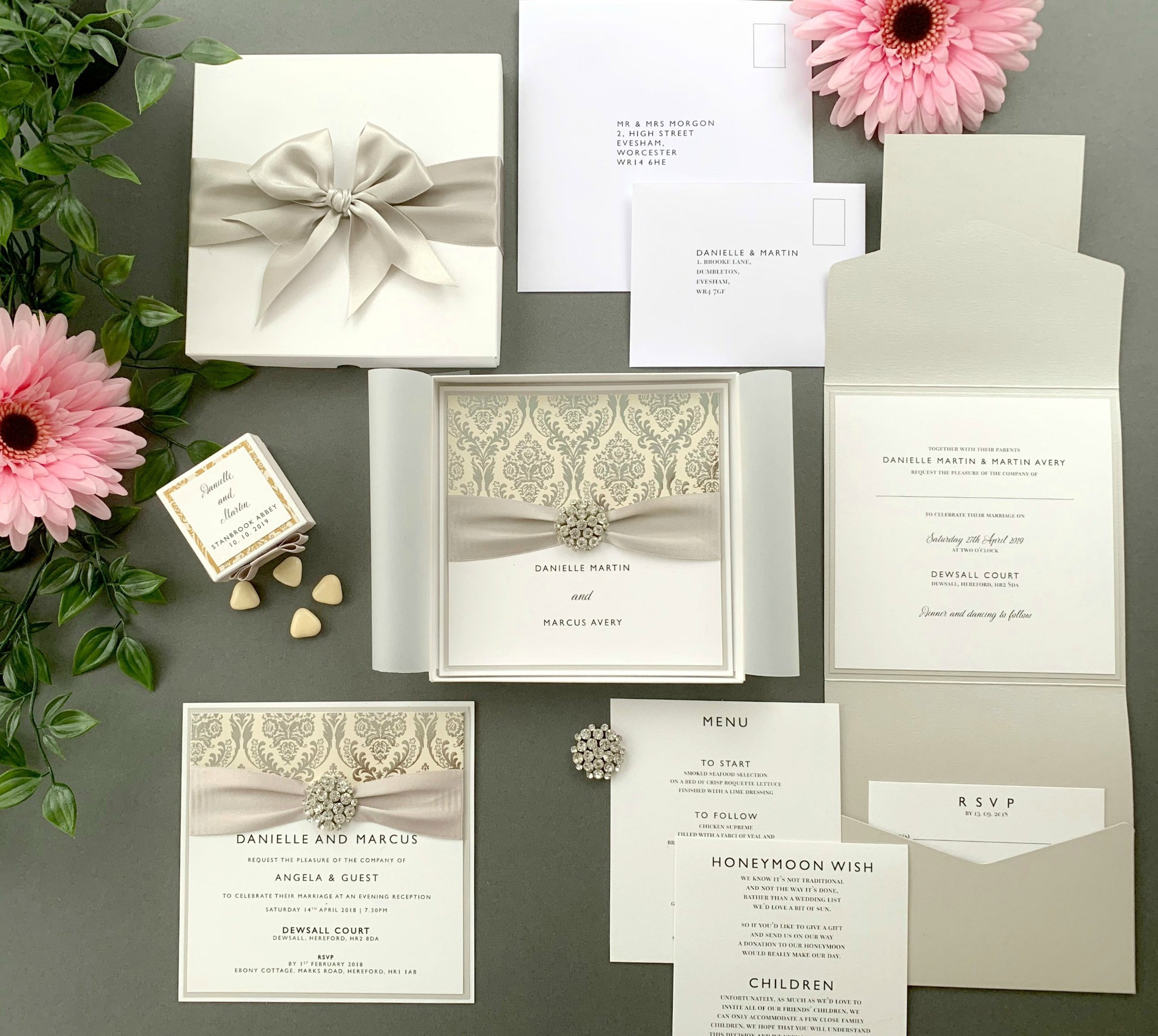 Fully-Handmade Invitations -