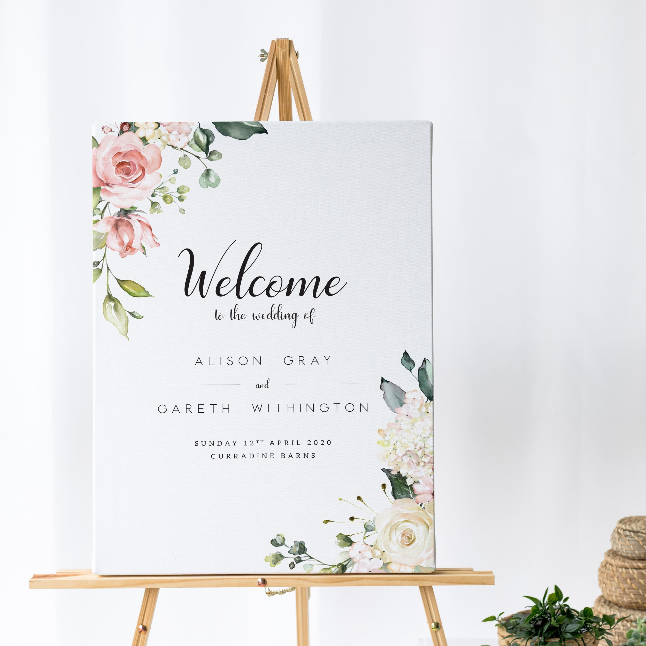 Signage Bundles - Whilst you can order a table plan by itself, you can order matching items to get a discount on your signage.Couples typically pair their table plan with a matching welcome sign to greet guests as they arrive but you can also add an order of the day timeline for a further discount.To qualify, all items must be the same size, finish and orientation.