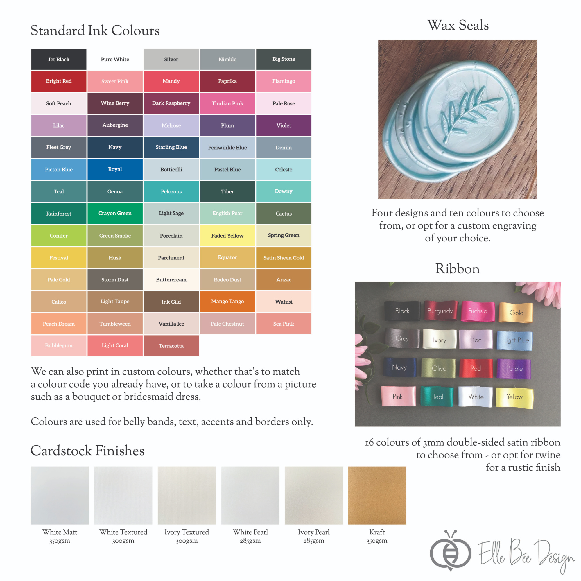 Classic Invite Suite Colour Options (inc Kraft).jpg