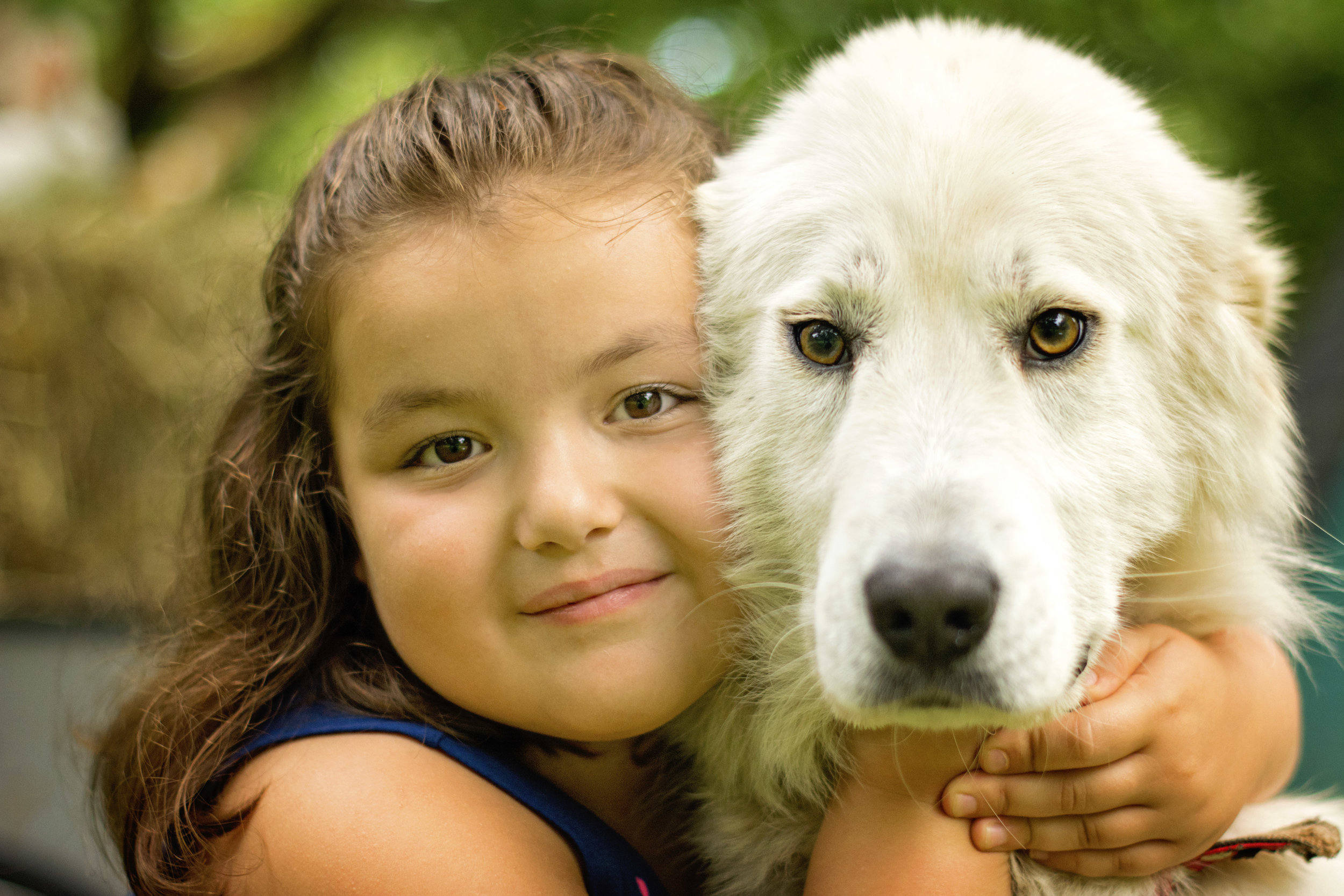 How sweet is that...just a girl and her pooch! Love it!