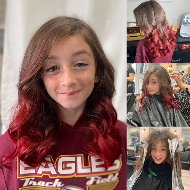 So this just happened! #backtoschoolhair