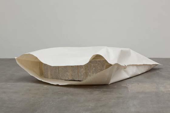 """Susumu Koshimizu, """" Paper (formerly Paper 2)"""".  1969/2012"""