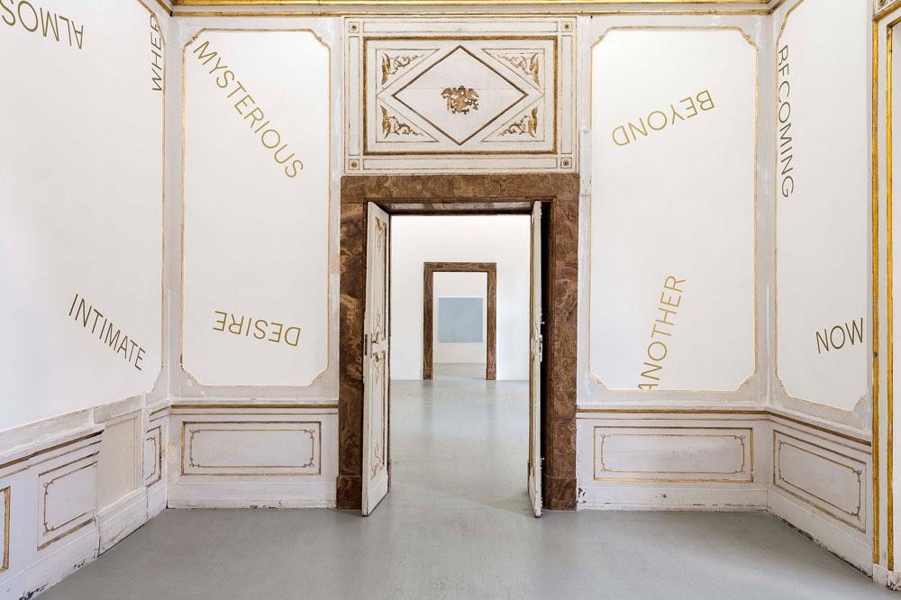 Robert Barry, Installation view, Alfonso Artiaco Napoli, 2018