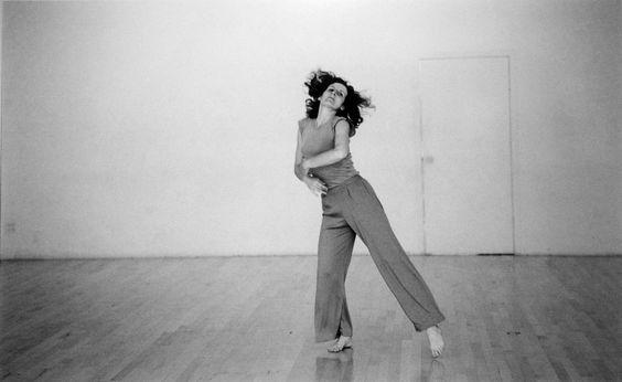 Trisha Brown dancing