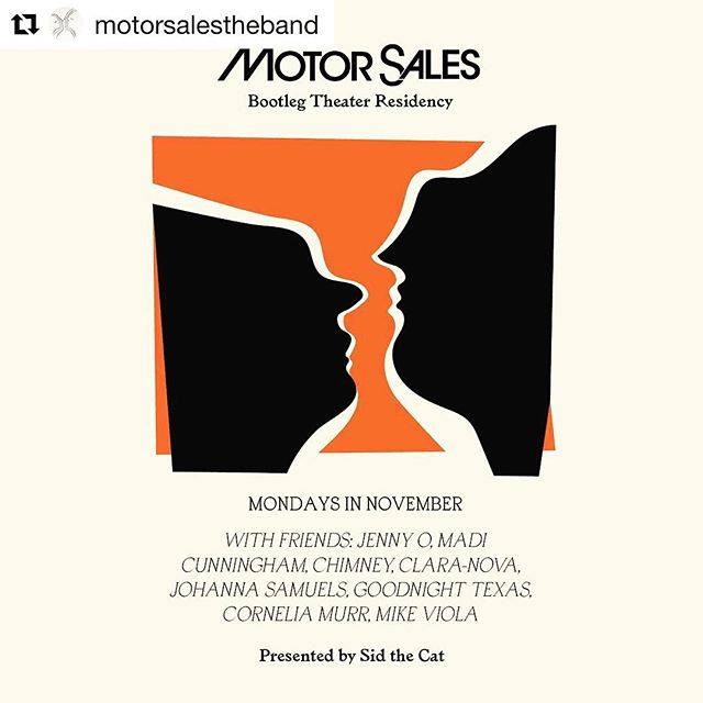 Playing free show tonight w/ @thisisclaranova 9PM in support of @motorsalestheband residency at @bootlegtheater ! @chimneyisme also playing .. come out! I said it's FREE!! #Repost @motorsalestheband with @get_repost ・・・ 2nd Residency show is tomorrow @bootlegtheater with @thisisclaranova and @chimneyisme ✌🏽 Come grab a silky soft Motor Sales T or a pink carnation from the stage. Presented by @sidthecatpresents and this week's sponsor @buzzbandsla All shows are free 🌹🌹🌹