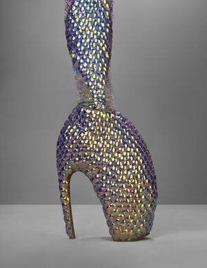 Alexander McQueen Savage Beauty Platos Atlantis Shoes, Photograph: Victoria and Albert Museum