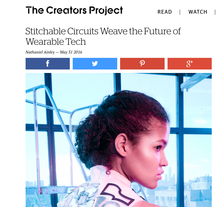 Appearance on VICE's The Creators Project