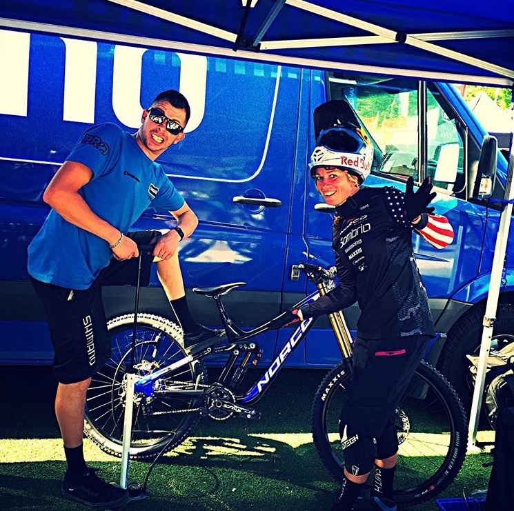 Shimano and fox have been awesome support at all the Pro Grt events!! Team blue for the win.