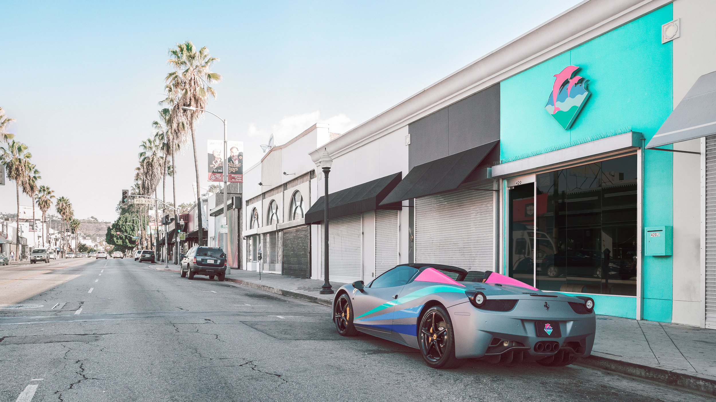 for PINK+DOLPHIN LA, by Me.