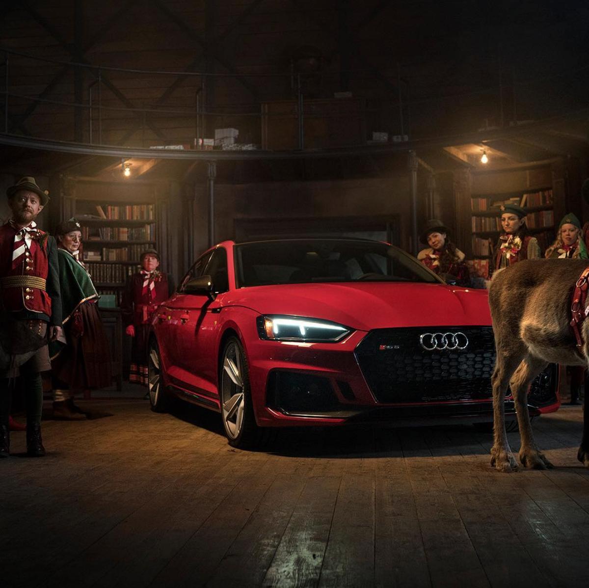 RS 5 Sportback - New Santa