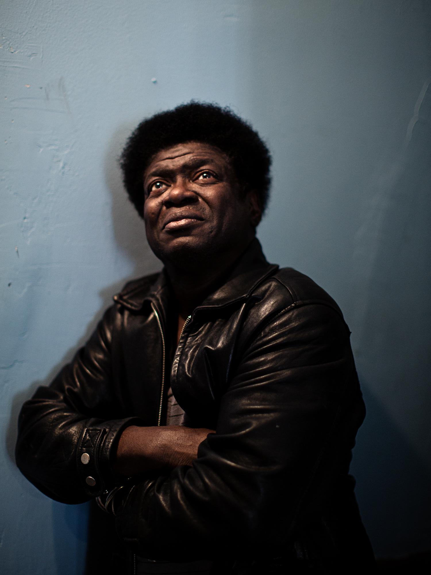 Singer Charles Bradley in Bushwick, Brooklyn.