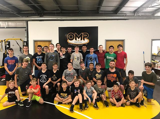 Thank you, @mo1rrill and @johnvanbrill for running a great practice! Giving our wrestlers valuable insight to push to that next level! We keep getting better!