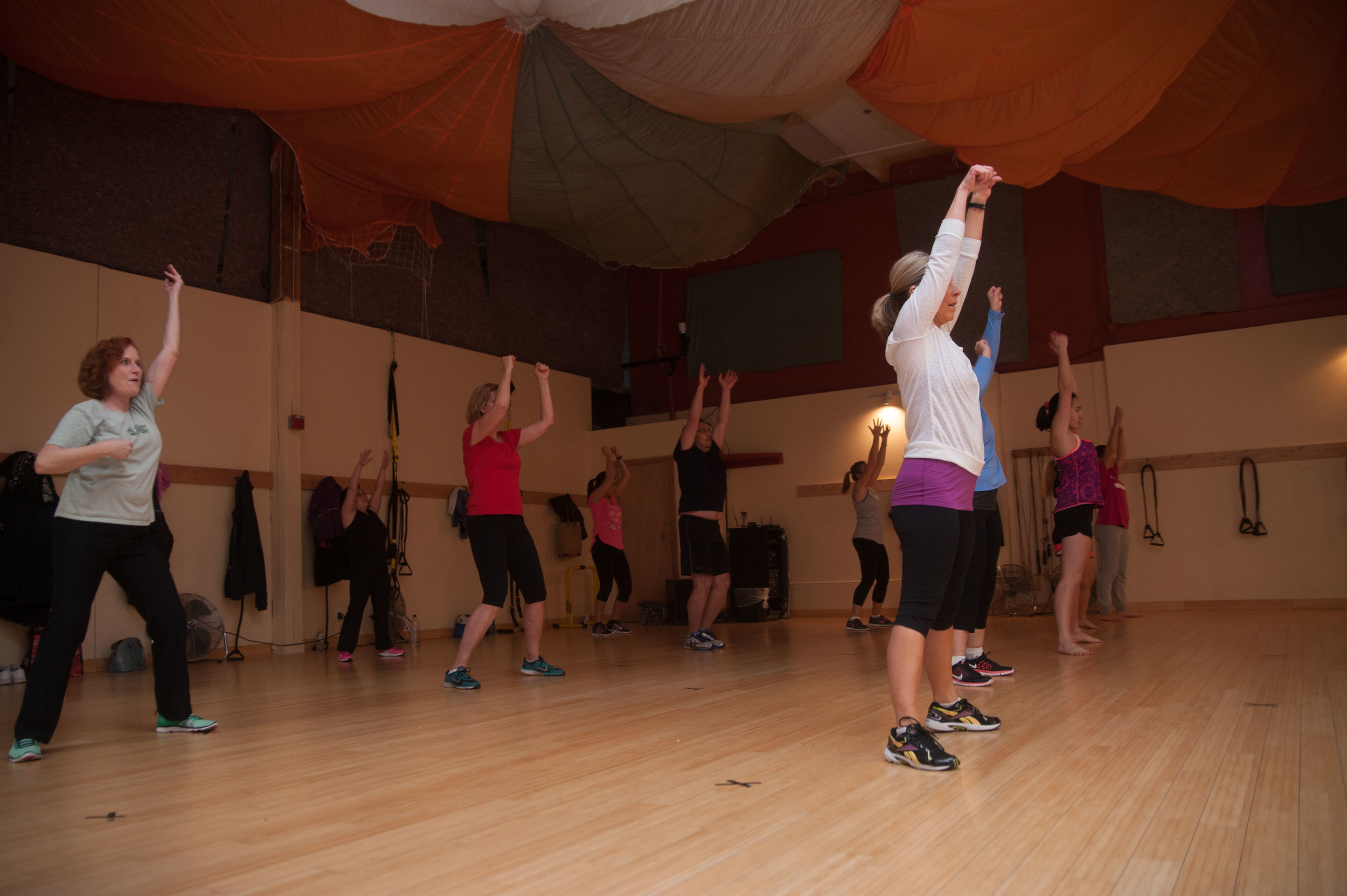 Do something you normally wouldn't with our group fitness classes.