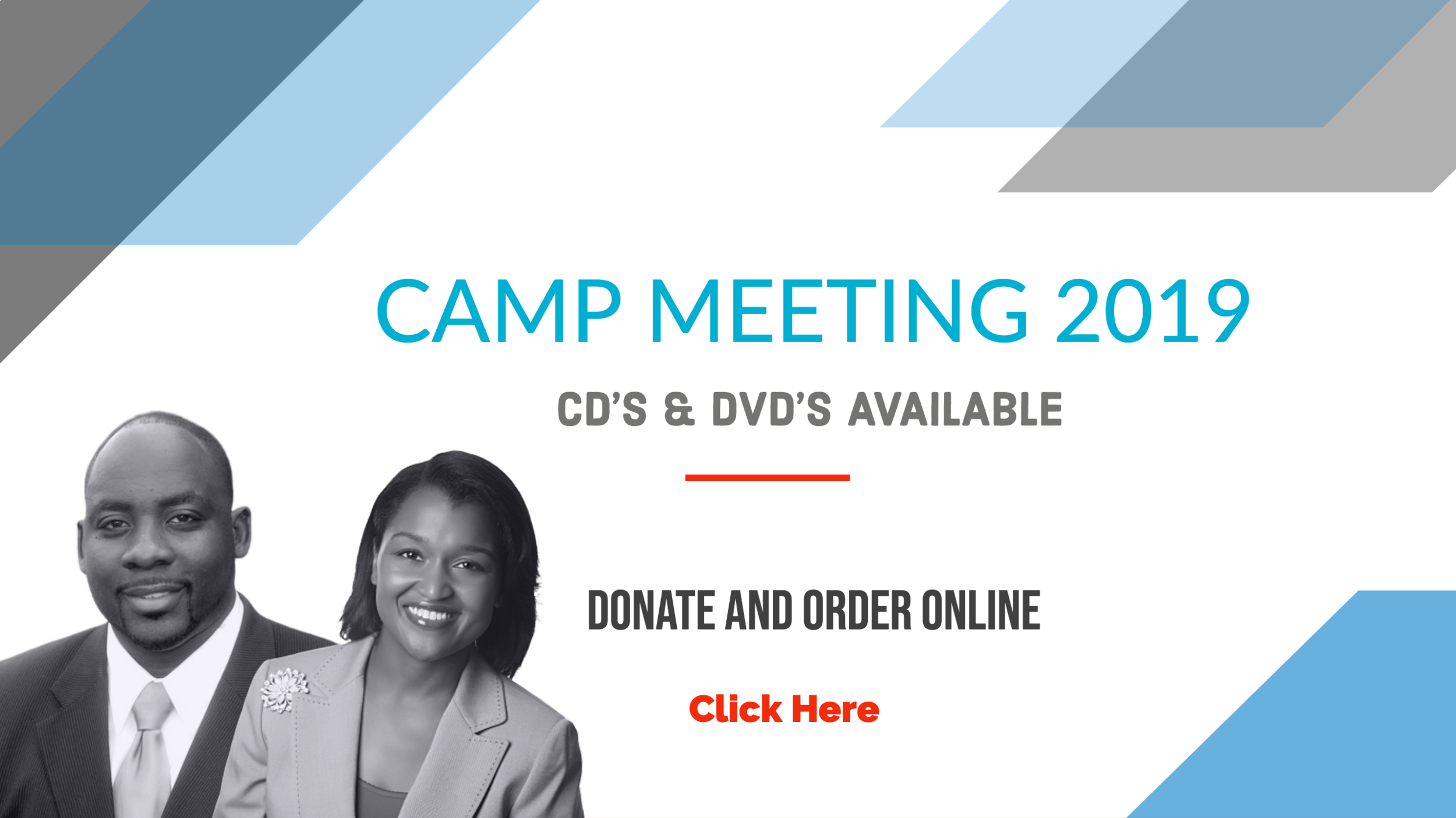 Camp meeting 2019 CD/DVD