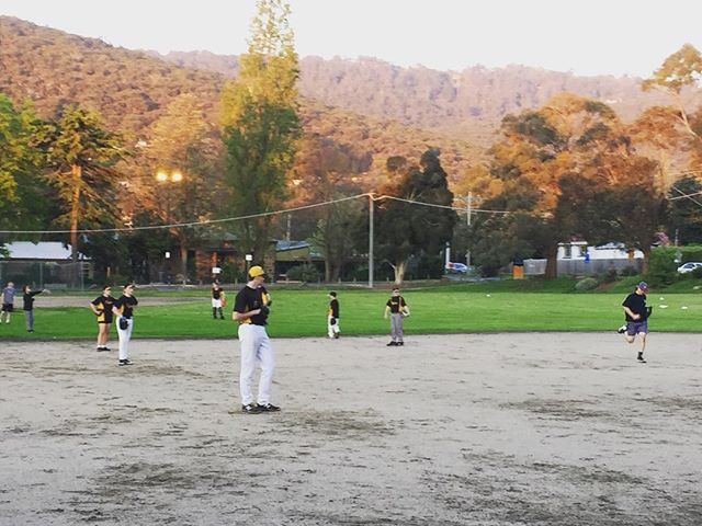 Pitching clinic for juniors