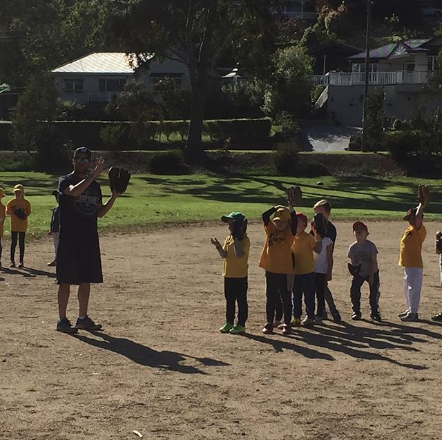 Our future players at Teeball