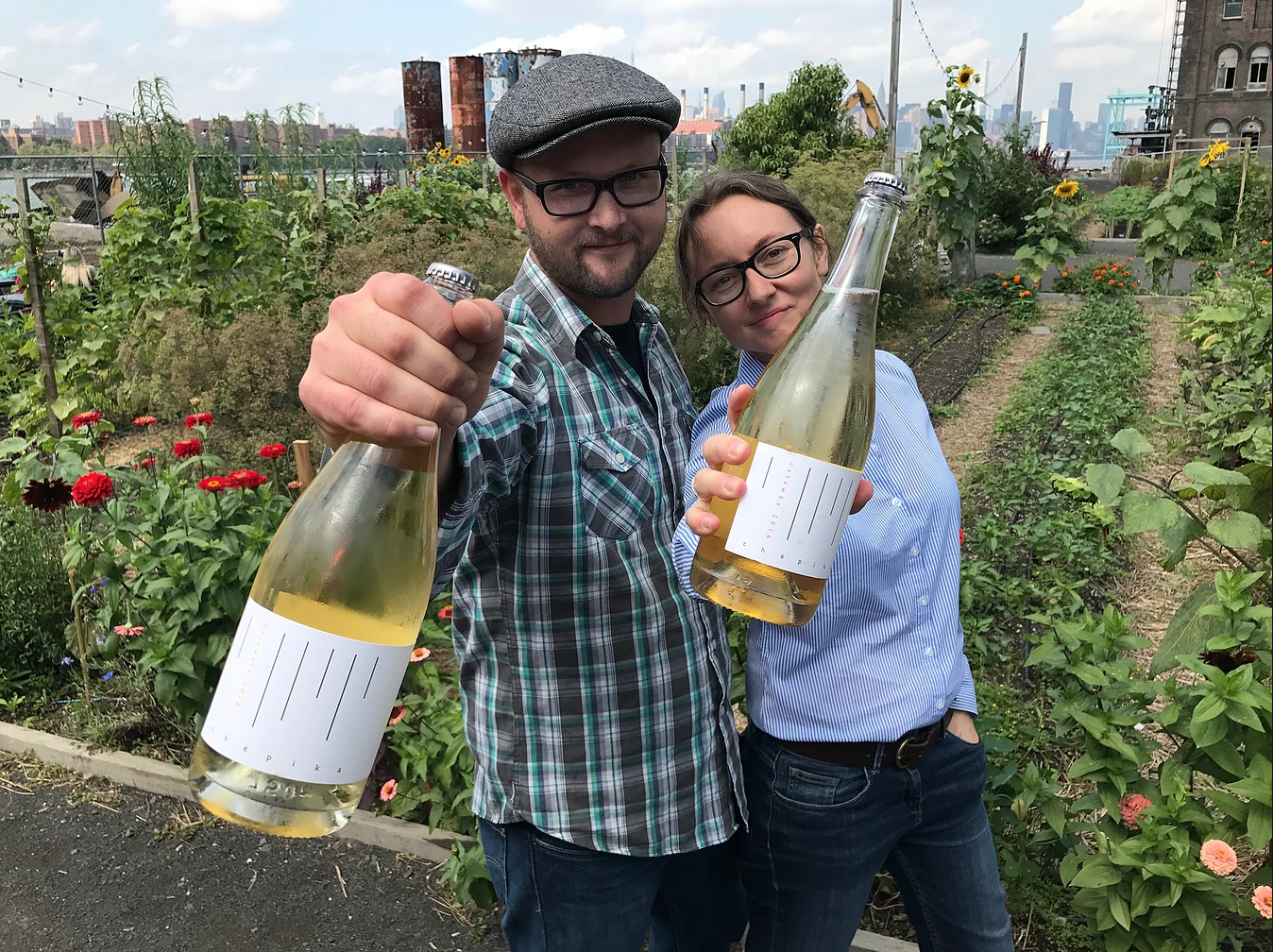 Nathan Kendall and Pascaline Lepeltier Avant Garde Wine and Spirits Photo