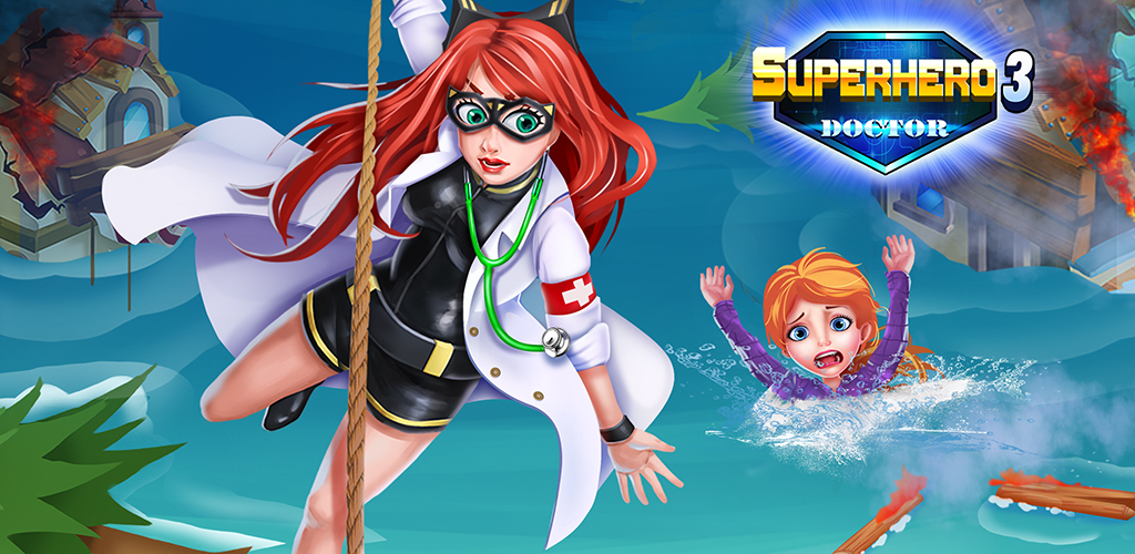 Superhero Doctor 3 ER Surgery  SOS! A tsunami hit a village, superheroes are saving people. They need YOUR help! Cure the superheroes when they needed.