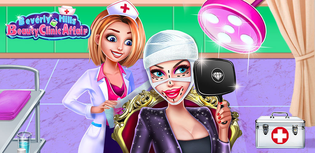 Beauty Clinic Affair  Do you know the secret of celebrity? How they keep their beauty? What happens in celebs' daily life? Now come and manage a beauty clinic in Beverly Hills!