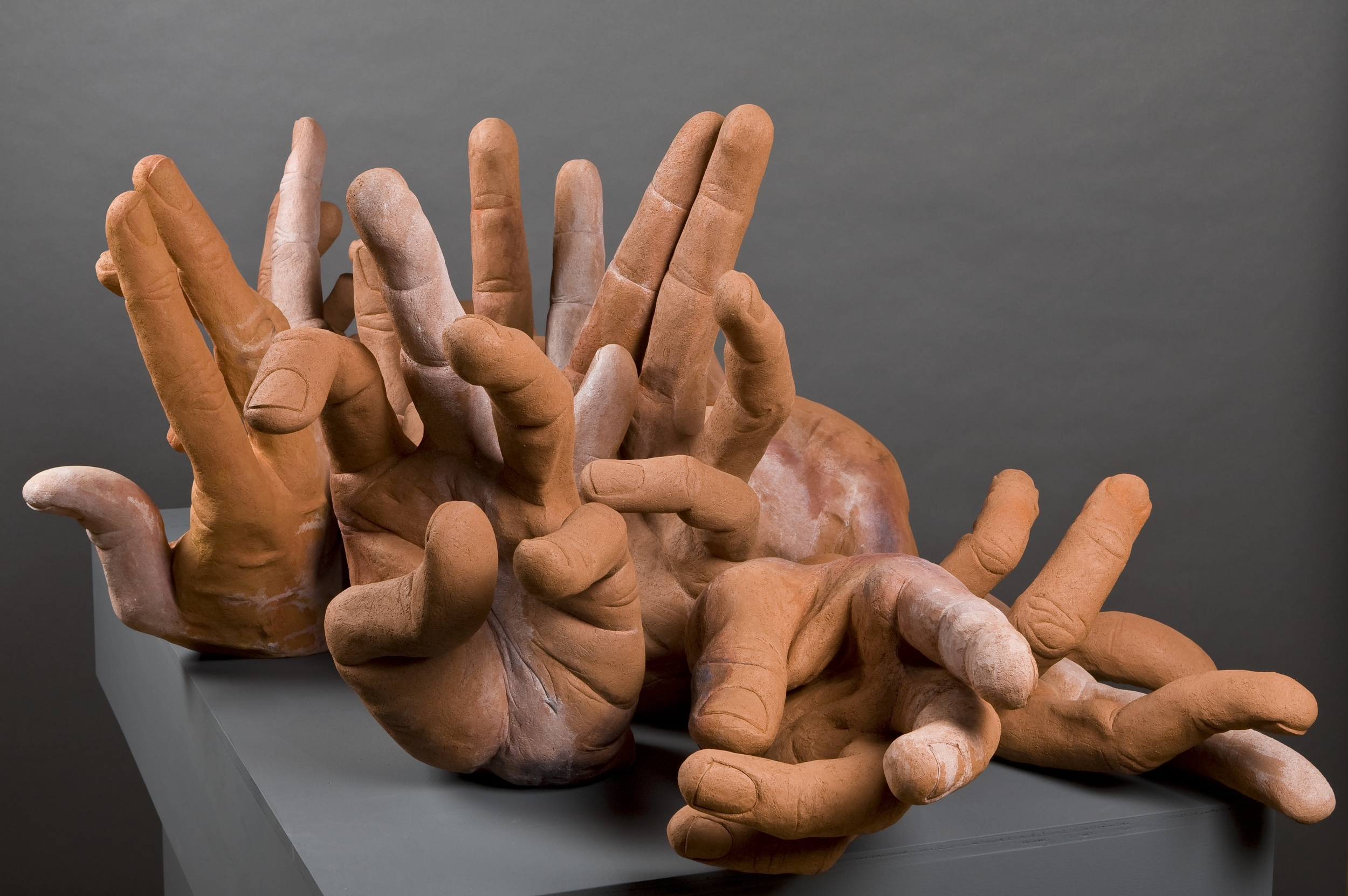 Eleven Hands (Detail).