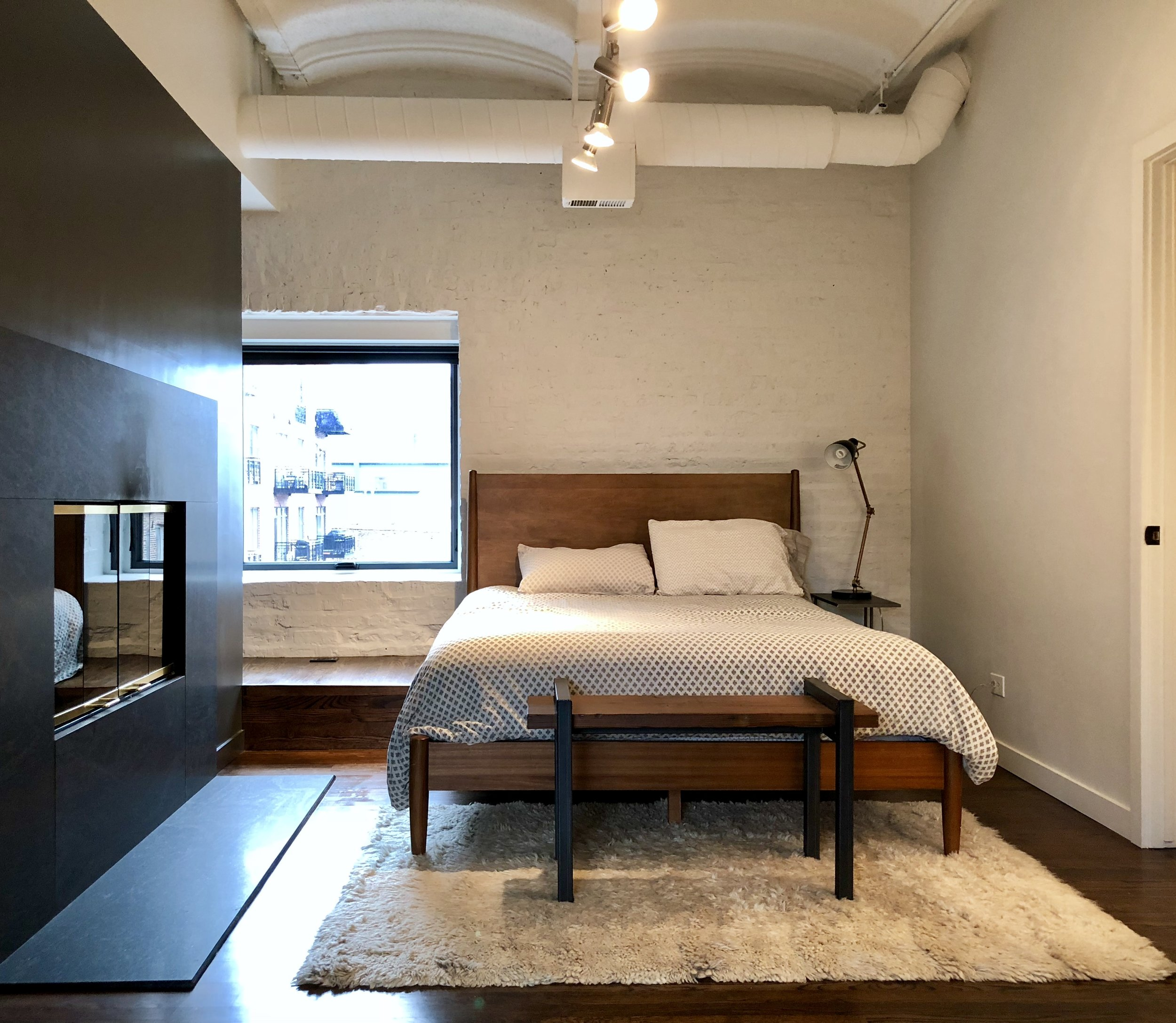 West Loop bedroom