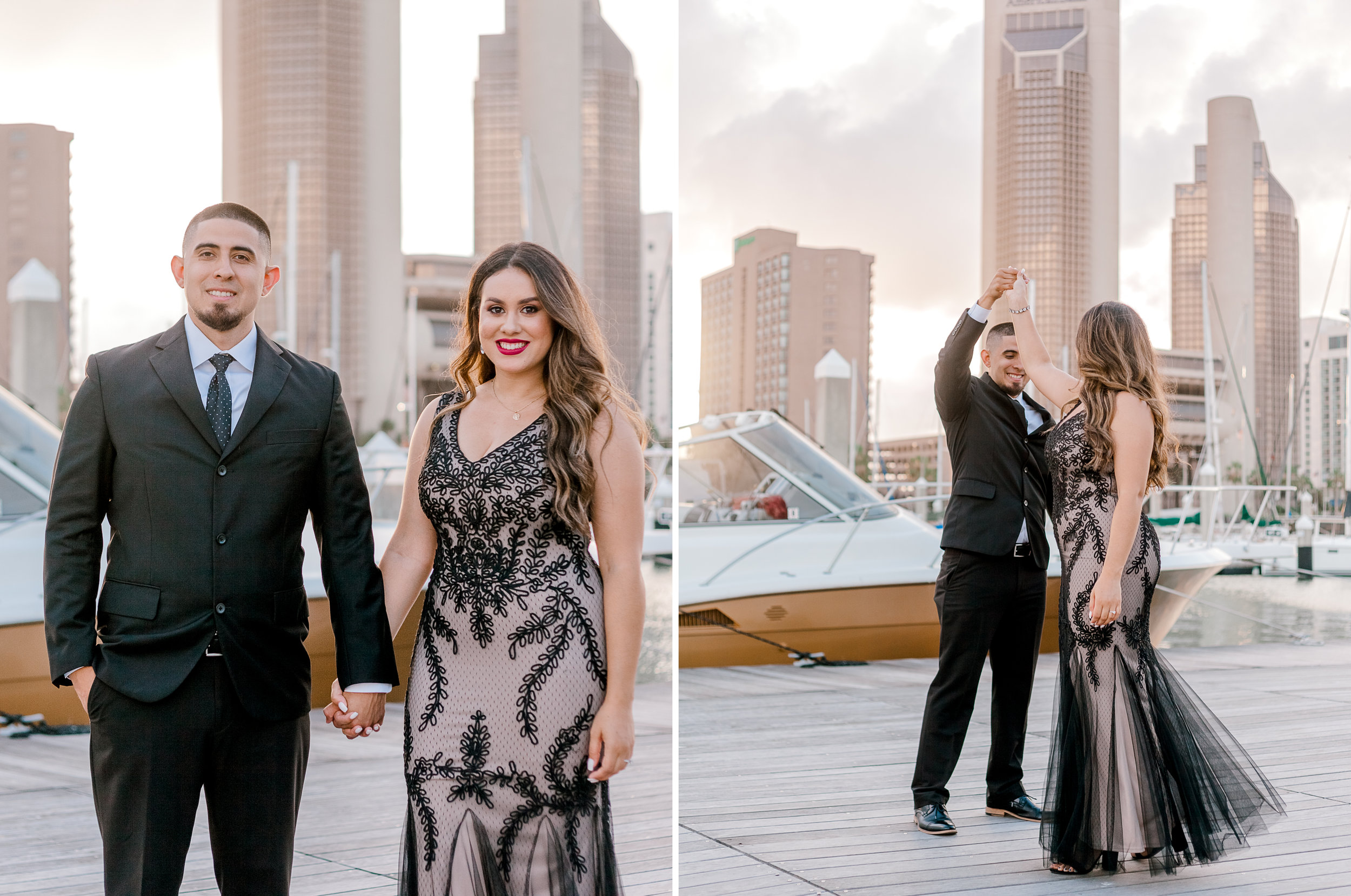 Corpus-Christi-Downtown-Engagement-Session