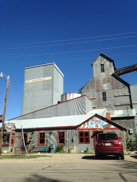 Hayden granary and coffeeshop.